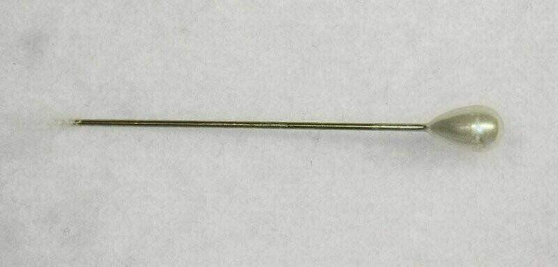 FS1114PRL - 10 mm Tear Drop Pearl Corsage pin (144 pc box)