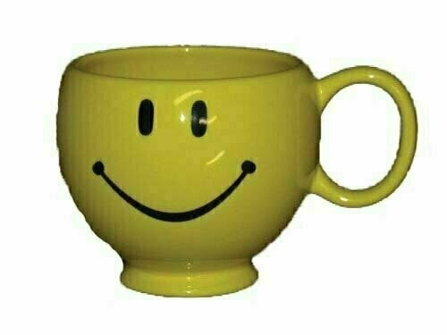 CP9106 - Yellow Smiley Face Mug