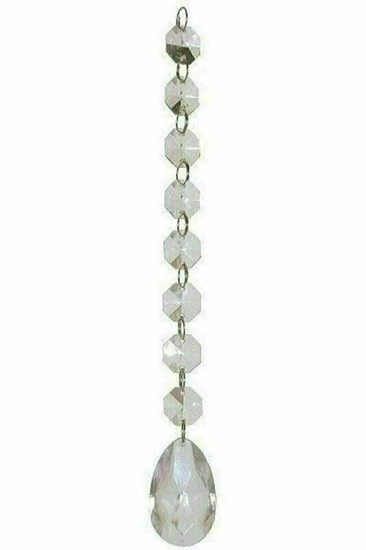 721CLR - Mini Prism Garland With Pendant