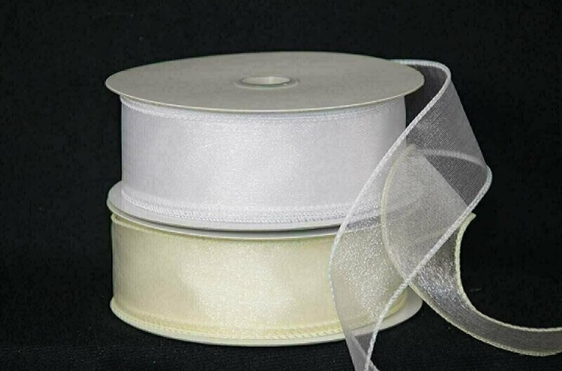 ISS40 - #40 Wired Organza (50 Yards)