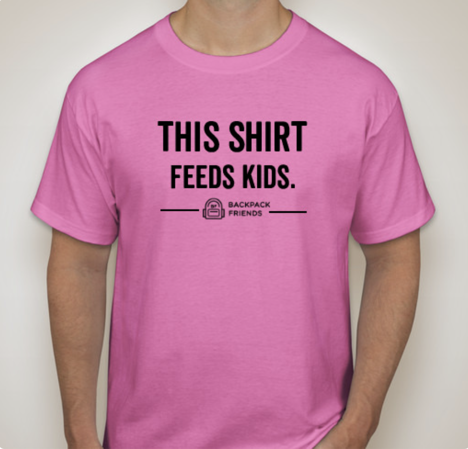 This Shirt Feeds Kids (Pink)