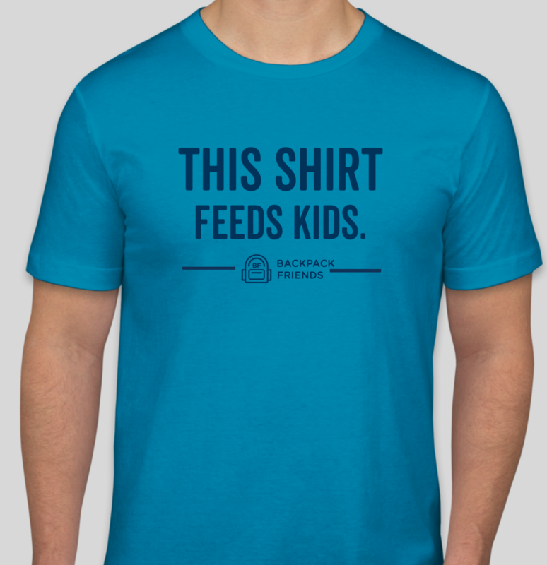 This Shirt Feeds Kids (AQUA) *NEW*