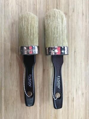 Fusion - Round Natural Bristle Wax/Paint Brush