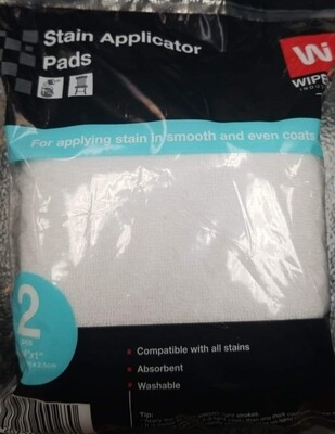 Stain Applicator Pads ( 2 pack)