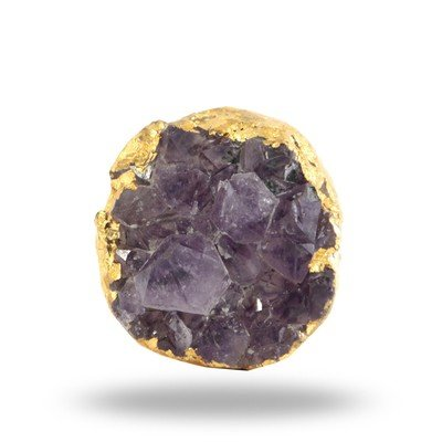 Amethyst Druzzy Knob (Purple)