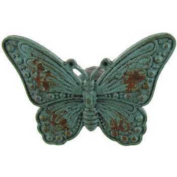 Aqua Pewter Butterfly