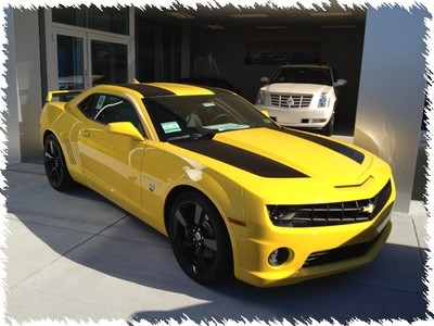 2010 - 2015 Camaro Transformers Edition Style Rally Stripes