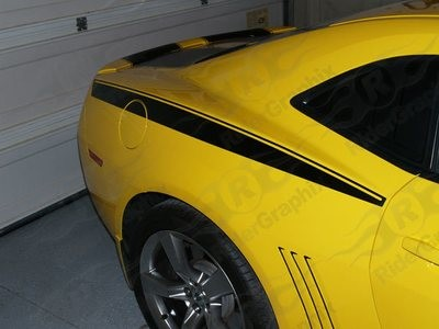 2010 - 2015 Camaro Rear Fender Stripes