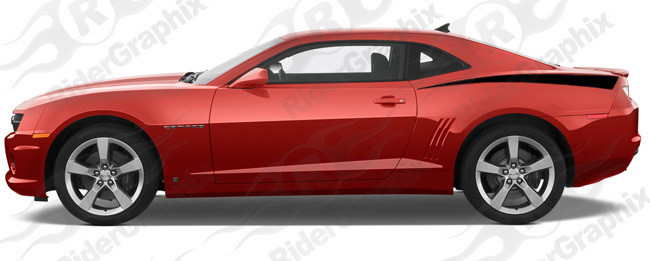 2010 - 2015 Camaro Rear Fender Stinger Stripes
