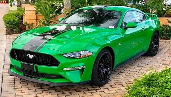 2015 - Up Mustang Wide Narrow Performance Pack Style Rally Stripes