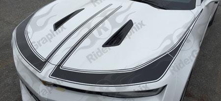 2016 - 2018 Camaro Front Fascia ZL1 Style Accent Stripe Kit