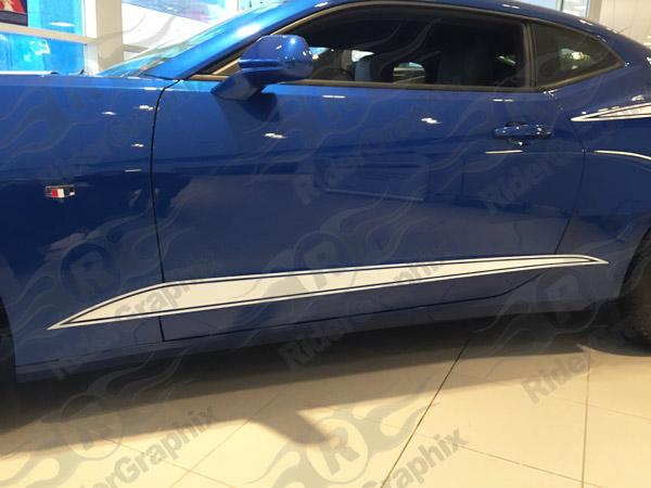 2016 - up Camaro Lower Accent Stripe Kit