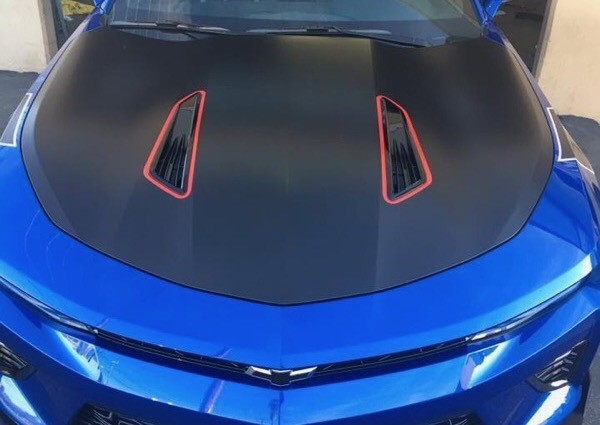 2016 - 2018 Chevrolet Camaro Hood Vent Accent Decals