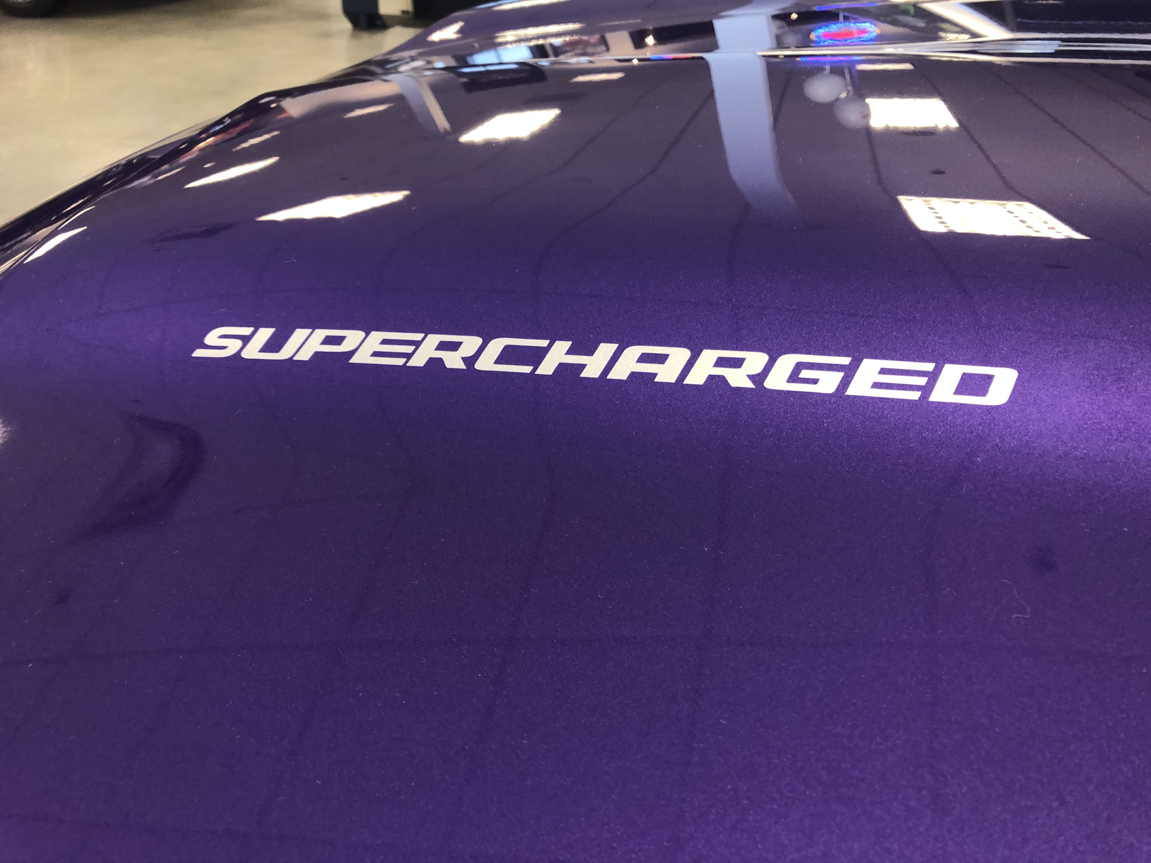 Universal Hood Decals Misc Makes and Models Supercharged Turbocharged