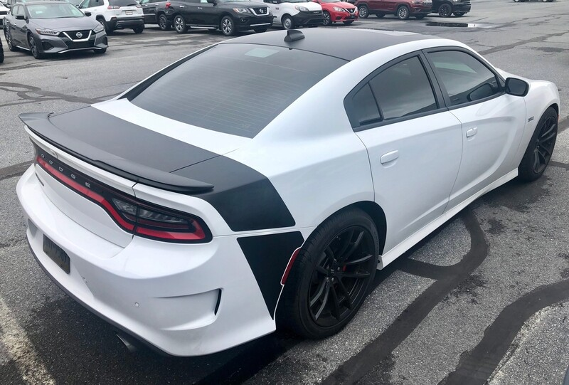 2015 - Up Dodge Charger Daytona Style Tail Stripe Kit with Lower Extensions