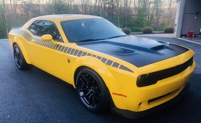 2008 - Up Dodge Challenger Gen 2 AAR Style Full Upper Strobe Stripes