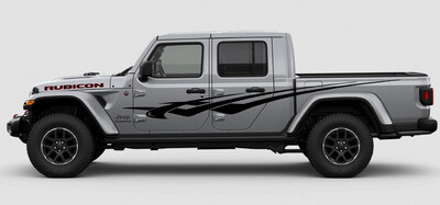 Jeep Gladiator JT Extra Large Side Checkmark 2 Style Vinyl Graphics