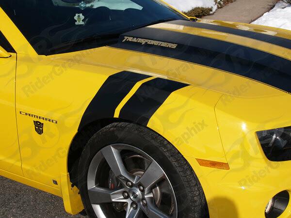 2010-2015 Chevrolet Camaro Fender Hash Side Stripes