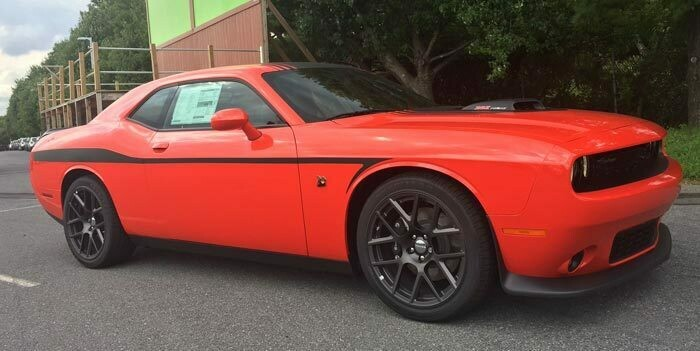 2008 - Up Dodge Challenger Devil Tail Lower Bodyline Stripe Kit
