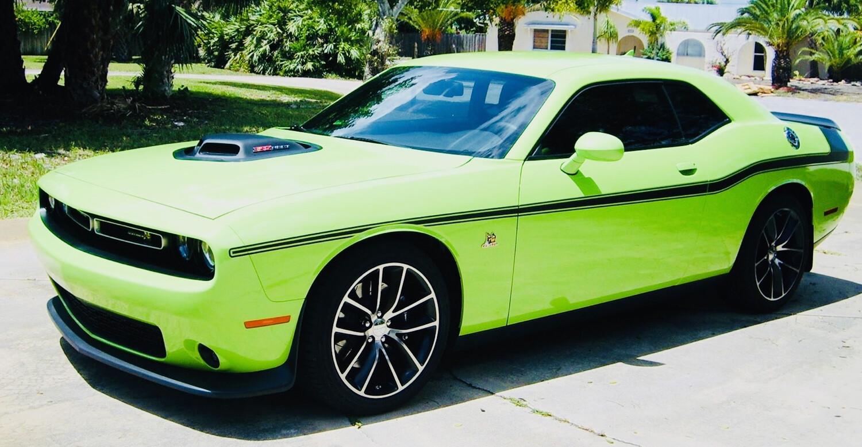 2008 - Up Dodge Challenger Mopar 14 Style Side Stripes