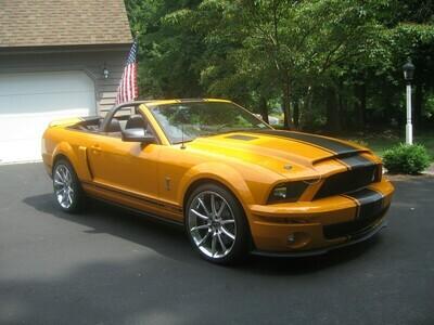 2005 - 2009 Ford Mustang Super Snake Style Stripe Kit