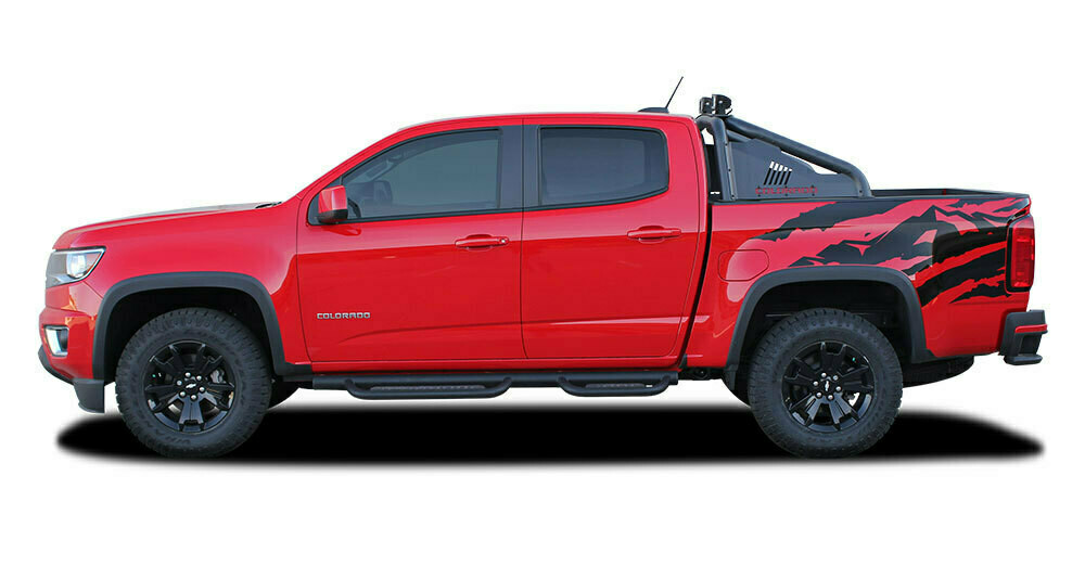 2015 - Up Chevy Colorado Antero Side Bed Graphics