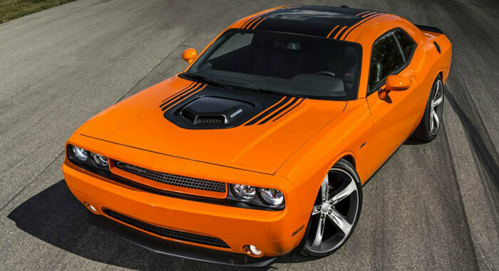 2014 - Up Dodge Challenger Shaker Full Stripe Kit