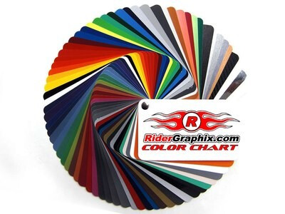 Purchase Ridergraphix.com Color Chart