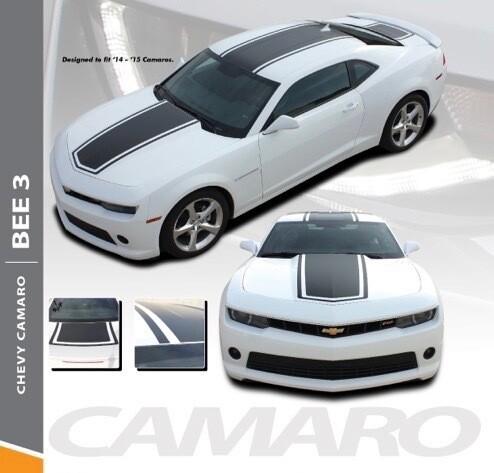2014 - 2015  Camaro SS/RS Bee 3 Rally Stripes