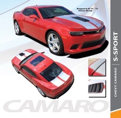 2014 - 2015  Camaro SS Z/28 Dual Rally Stripes