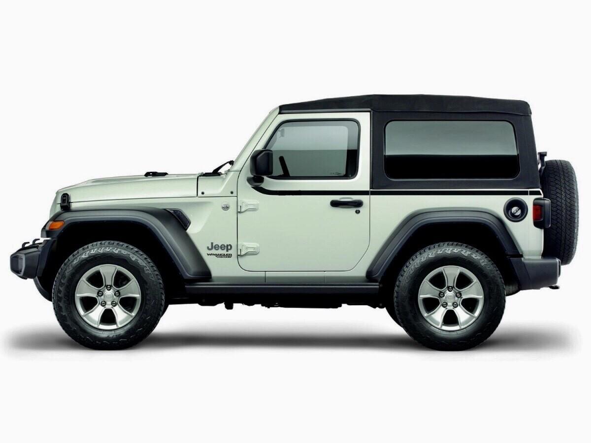 2018 - UP Jeep Wrangler JL 2 Door Upper Body Side Stripes