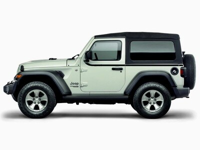 2018 - UP Jeep Wrangler JL 2 Door Upper Body Side Stripes