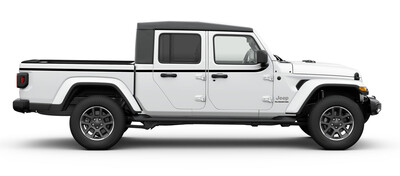 2018 - UP Jeep Gladiator JT 4 Door Upper Body Side Stripes
