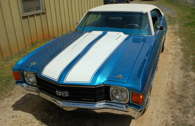70 - 72 Chevelle SS Factory Style Dual Stripe Kit