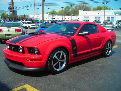 2005 - 2009 Mustang Boss Style Hood/Side Stripe Kit