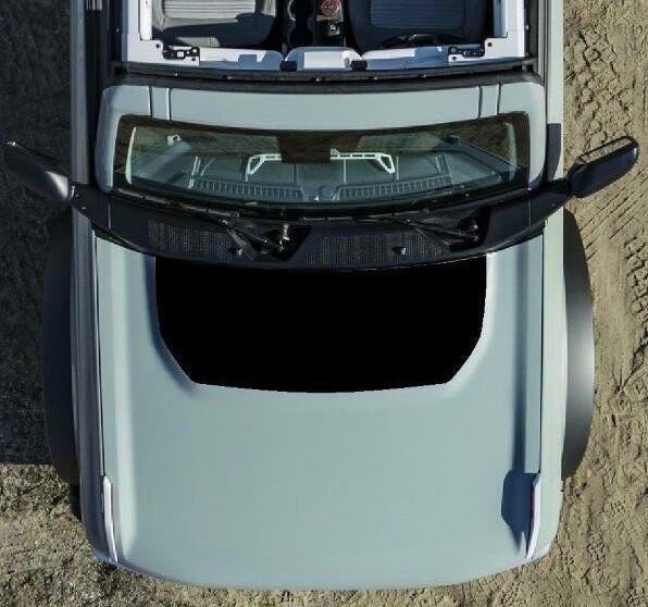 2021-up Ford Bronco Hood Blackout Graphics Kit