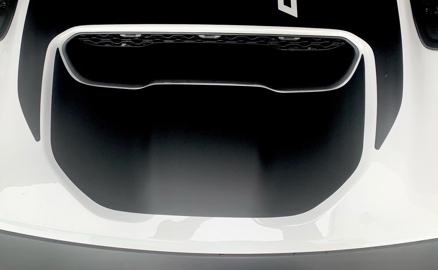 2021 - UP Ram TRX Sport Hood Scoop Insert Blackout Decal Kit