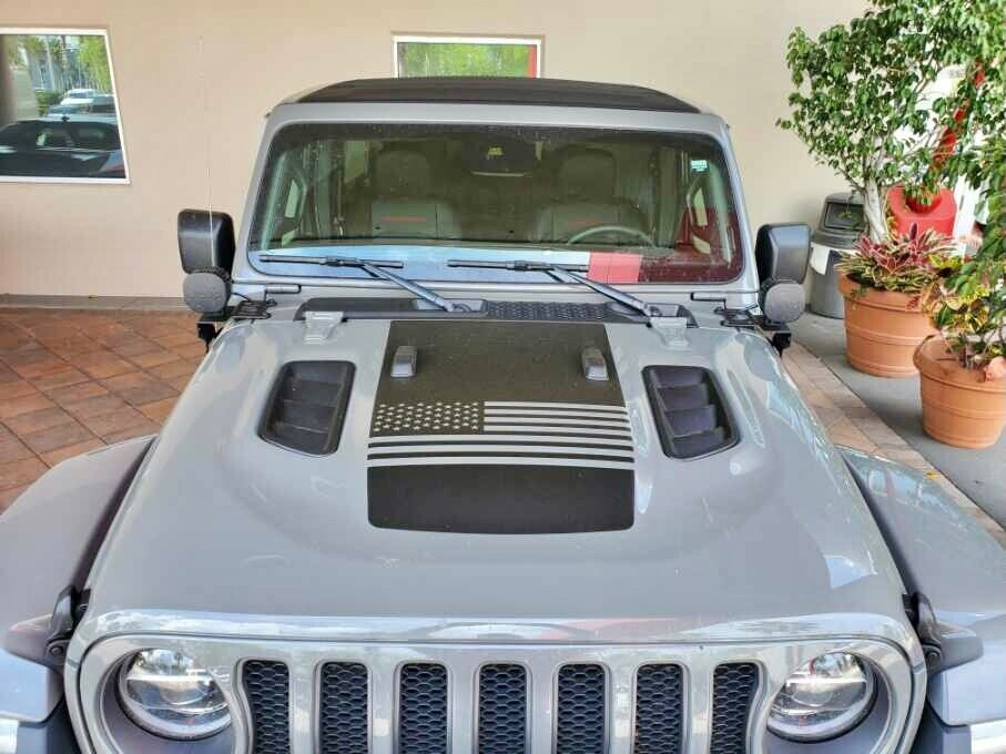 Jeep Gladiator JT Wrangler JL JLU Rubicon Hood Graphics