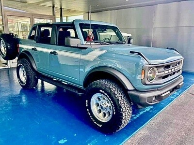 2021-up Ford Bronco Retro Special Decor Style Side Graphics Kit (Below Body Line)