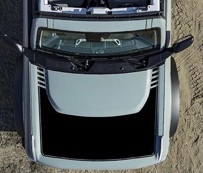 2021-up Ford Bronco Large Hood Bump Surround Vinyl Graphics Kit