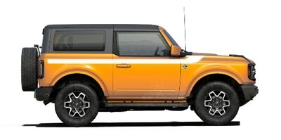 2021-up Ford Bronco Stripe/Paint Color Combinations