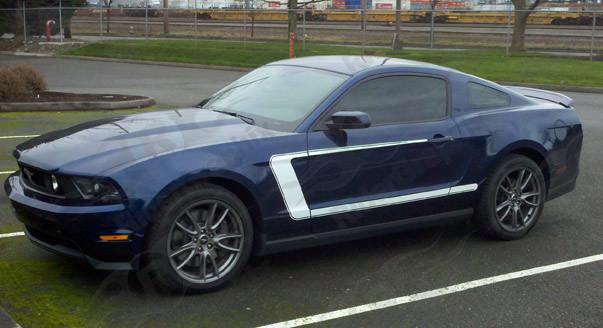 2010-2014 Mustang 69 Boss 302 Style Reverse C Stripe Kit (Custom Style)