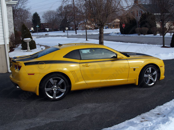 2010 - 2015 Camaro Full Side Upper Body Accent Stripes