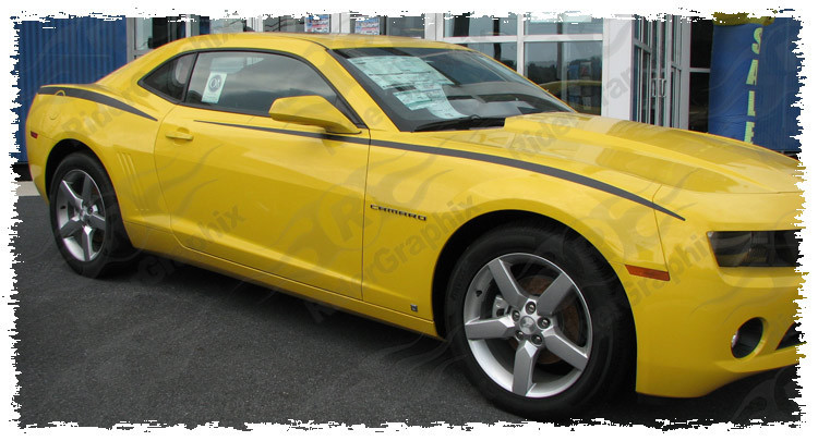 2010 - 2015 Camaro Upper Fender Accent Stripe Kit