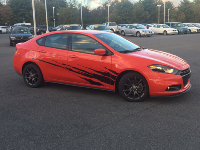 2013 - 2016 Dodge Dart Large Splash Graphics