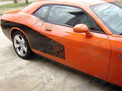 2008 - Up Challenger Billboard Style Side Decals