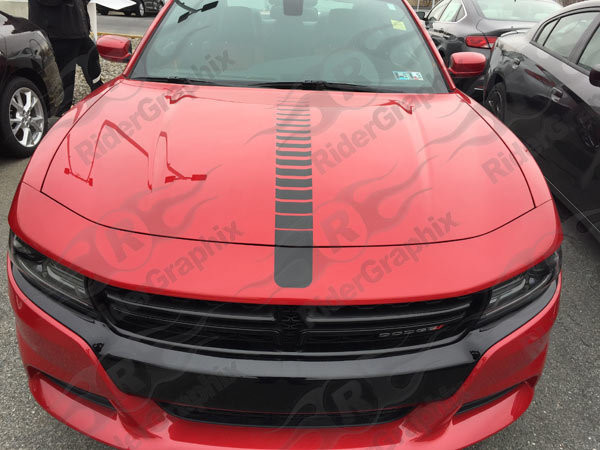 2015 - up Dodge Charger Center Accent Hood Graphics