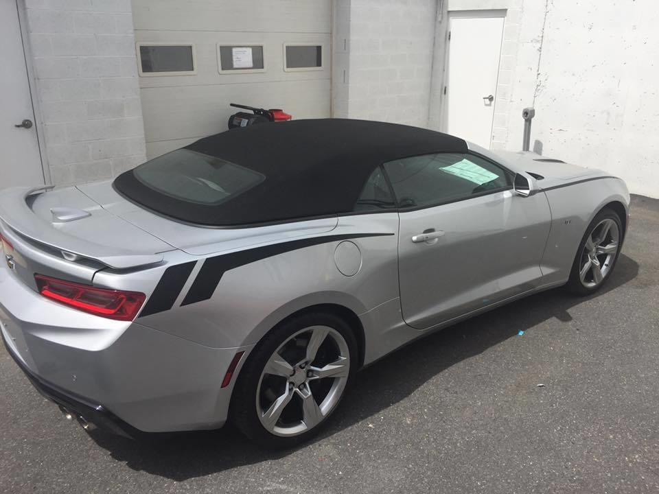 2016 - up Camaro Rear Quarter Accent Stripes
