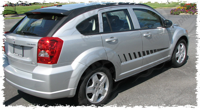 2007 - 2012 Dodge Caliber Side Accent Decal Kit