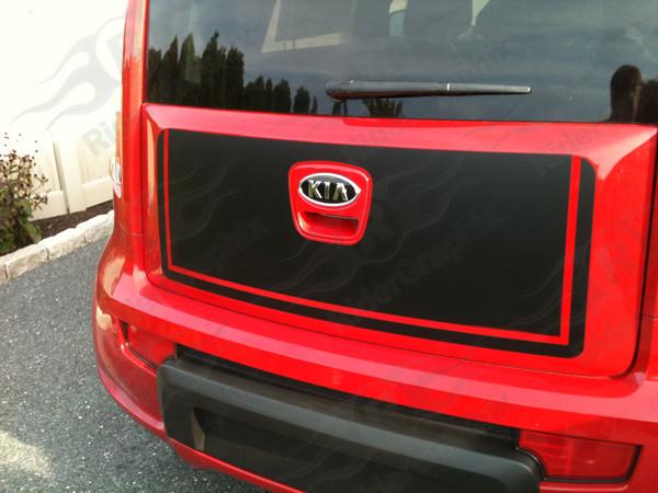 2009-2013 Kia Soul Trunk Decal Kit